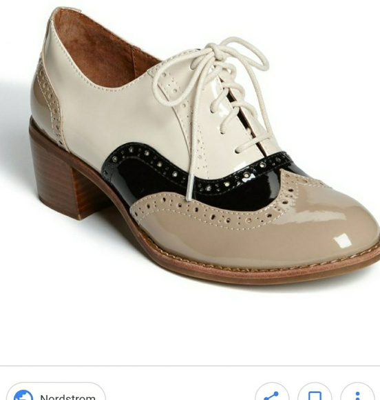 55ff42dfadd Jeffrey Campbell Shoes - Jeffrey Campbell Williams heeled oxford sz 5 CUTE